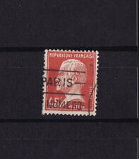 timbre France  Pasteur  45c  rouge    num: 175  oblitéré