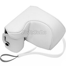 PU leather camera case bag protector f Sony NEX-5 NEX-5N NEX-5C w/ 16mm 18-55mm