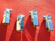 LION CHROME TYRE VALVE CAPS SET of 4 Badge Suit HOLDEN Emblem *NEW VT VS VX VZ