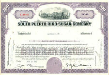 South Puerto Rico Sugar Company 1962