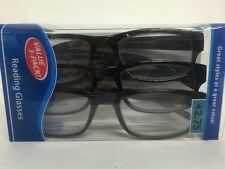Lot of 3 Reading Glasses Kenneth  +2.75 New in Package