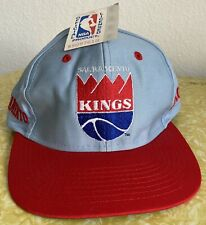 NEW Vintage Sacramento Kings Snapback 90s Hat Deadstock NWT New Old Stock