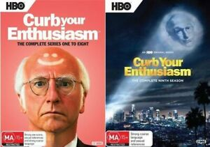 CURB YOUR ENTHUSIASM Series : Season 1-8 + 9 : NEW DVD