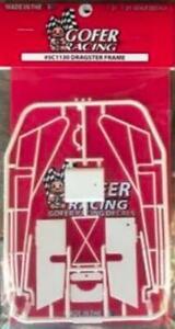 Gofer 51130 1/24-1/25 Top Fuel Dragster Frame Plastic Kit