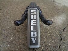 "POST WAR SHELBY COLORFLO HEAD-BADGE OFF A 26"" BALLOONER 5"" LONG GOOD BARN FIND"