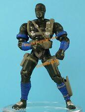 GI JOE figurine articulée SNAKE EYES ninja HASBRO 2001 action figure figurilla