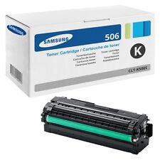 1x Original SAMSUNG TONER CLT-K506S/ELS CLP680DW CLP680ND CLX6260FD CLX6260FR