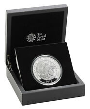 2018 Britain 1 oz Silver Queen/'s Beasts Black Bull Clarence Proof OGP SKU52880