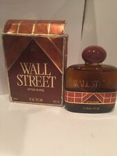 Victor WALL STREET After Shave 3.4 oz 100 ml VINTAGE Damaged Box