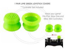 Green Thumb Stick Joystick Cubierta Convexo Para Xbox 360 PS3 PS4 controladores elevado