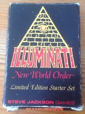 Illuminati INWO Empty Deck Box 1994