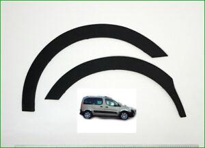 CITROEN BERLINGO II Wheel Arch Trims for Wing&Quater  MATT BLACK 4pcs. '08-18