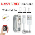 USB Charging Sync Data Cord Charger Cable Line For Apple iPhone 5 5s 6 6s 6p LOT