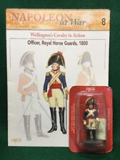 DEL PRADO #8 BRITISH OFFICER ROYAL HORSE GUARDS 1800 (BOOKLET)