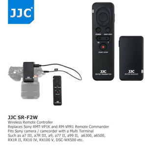 Multi-function Wireless Remote Controller fr Sony A7III A7RIII A6500 as RMT-VP1K