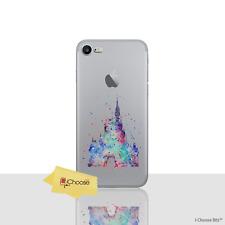 Disney Mignon Château Silicone Souple Gel Étui / Housse pour Apple IPHONE 8 Plus