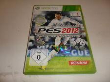 XBox 360   PES 2012 - Pro Evolution Soccer