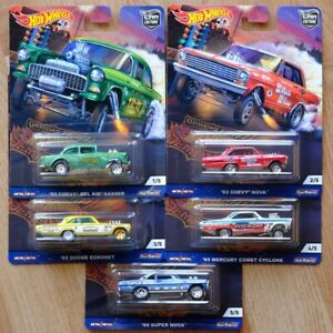Hot Wheels Car Culture Drag Strip Demon Full Set of 5 Brand New Free Shipping