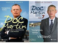 Doc Martin Complete Series Season 1-7 + The Films DVD Set Collection TV Show Lot