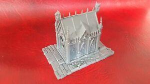 Warhammer Vampire Counts  Garden of Morr Sigmarite Mausoleum C (unpainted)