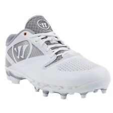 Warrior Gospel Mens Size 14 Lacrosse Lax Cleats Silver White New