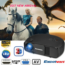 3200lumens 1080P 3D Proiettore FULL HD LED VIDEO PROJECTOR HDMI/VGA+3D Glasses