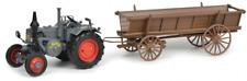 SCH7702 - Tracteur LANZ BULLDOG avec plateau -  -