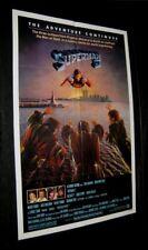 "Original STUDIO STYLE 27"" X 41"" SUPERMAN II Twin Towers CHRISTOPHER REEVE"