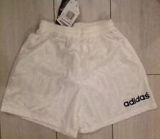 Adidas Vintage Short Lisbon Blanc T. S 38-40 Neuf Original Retro Soccer