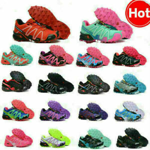 Salomon Speedcross 3 Damen Outdoor Sneaker Laufschuhe Cross-Schuhe Hikingschuhe