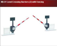 Peco NB-51 Level Crossing Barriers (8 Pcs) N Gauge