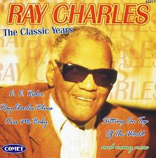 """Ray Charles """" The Classic Years """" CD 14 TRACKS NEW Comet 1997"""