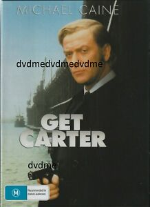 Get Carter DVD Michael Caine Brand New and Sealed Australia