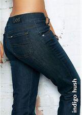 Lee Leola Straight Jeans W26 L33 NEU Hose Stretch Dark Blau Slim Fit L332DHAL