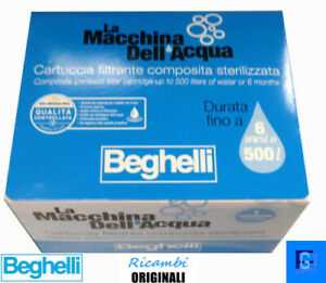 Filtro 3341 Macchina Dell' Acqua Beghelli  SCADENZA 01/2023