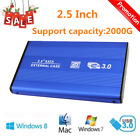 2.5 Inch USB3.0 Aluminum External Hard Drive Disk SATA Solid State HDD SY
