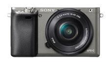 SONY Alpha A6000 Mirrorless Digital Camera - Gray (with 16-50mm Lens)