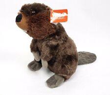 "New Wild Republic Cuddlekins Beaver Realistic Stuffed Plush Tags 12"" Classroom"