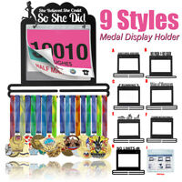 Race Bib Medal Display Hanging Race Medal Hanger Holder Rack Stand Gift Decor