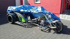 Abdeckplane XL Trike Faltgarage Pelerine Wetterschutz Garage BOOM Mustang Rewaco