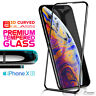 3D FULL Coverage Tempered Glass Screen Protector For iPhone Xs Max iPhone XR 10s
