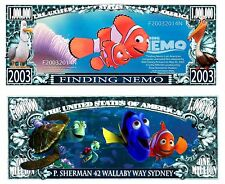 Finding Nemo Novelty Bill With a Semi Rigid Protector & Free Shipping