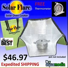 Survival- Emergency- Solar Sun Oven 10oz.  Cooking Baking camping/hiking +BONUS!