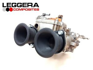 "FIAT 500 126 WEBER 40 DCOE DELLORTO 40 DHLA 2in 2"" 50mm VELOCITY STACKS"