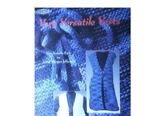 Very Versatile Vests Knitting Patterns