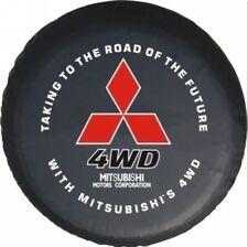 For Mitsubishi Pajero world map Spare Wheel Tire Cover