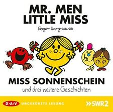 ROGER HARGREAVES - MR.MEN UND LITTLE MISS - MISS SONNENSCHEIN CD NEW