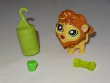 Littlest Pet Shop #944 Tan & Caramel Postcard Lion Green Eyes Fitness Weight Bag