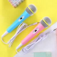 Children wired microphone toy musical instrument karaoke singing kid music tNIU