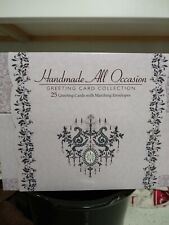 NEW Burgoyne 25 Handmade All Occasion Greeting Card Collection Cards in Box